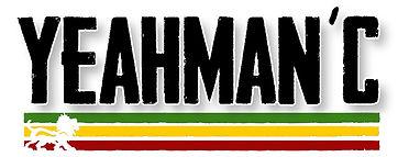 yeahman c logo vert jaune rouge