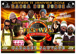 Flyer rdf festival édition II