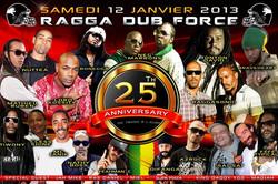 Flyer rdf festival 25 ans