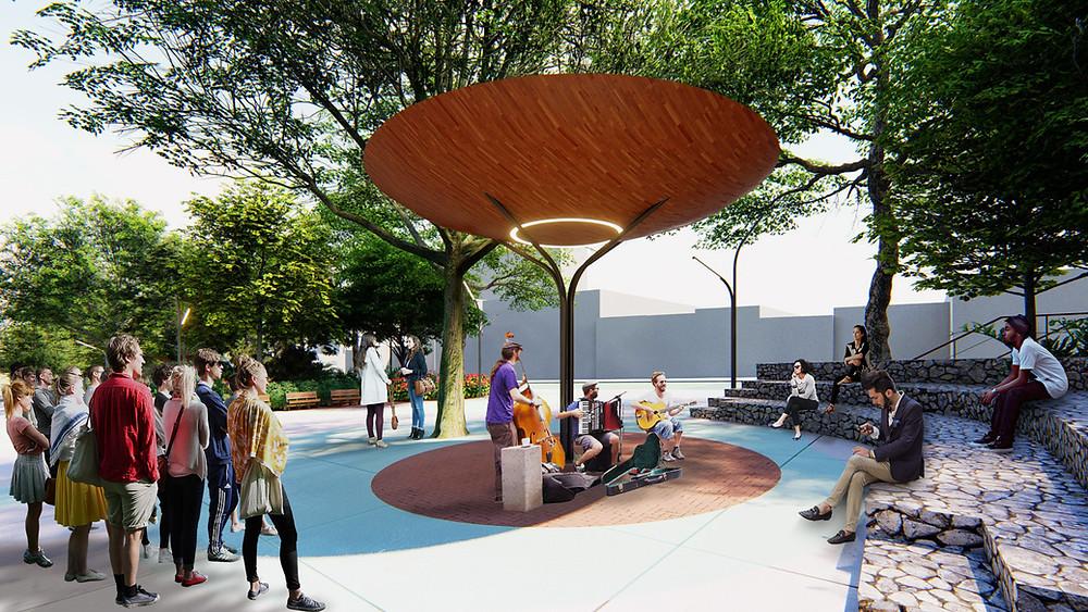 Projeto Praça Benedito Calixto - Estúdio HAA!