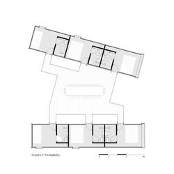 CASA COOPERATIVA CONTAINER - PLANTA 1 PAVIMENTO - HAA