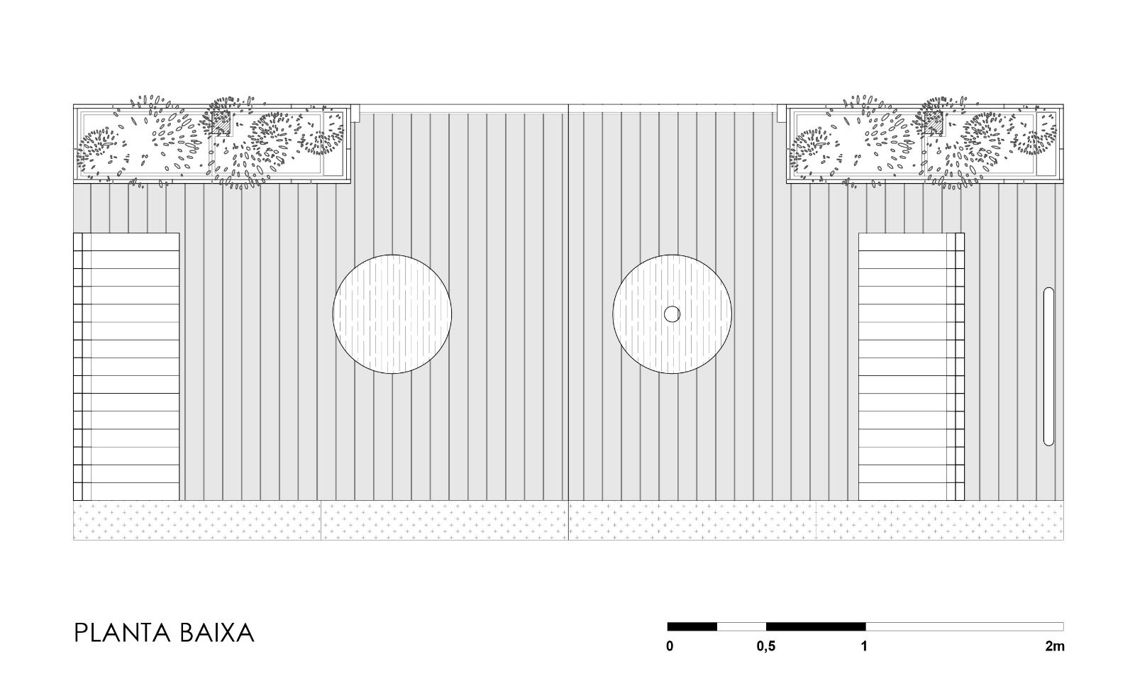 PARKLET MANTEIGARIA - RUA PAMPLONA - PLANTA - HAA
