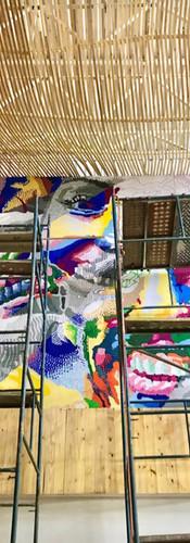 Galeria Calixto: Processo de Obra