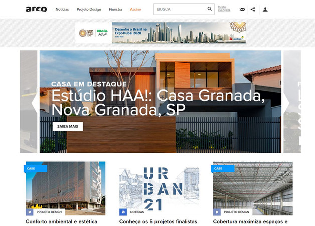 Casa Granada em destaque Arco Web