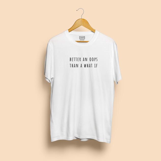 Tshirt Branca Oops