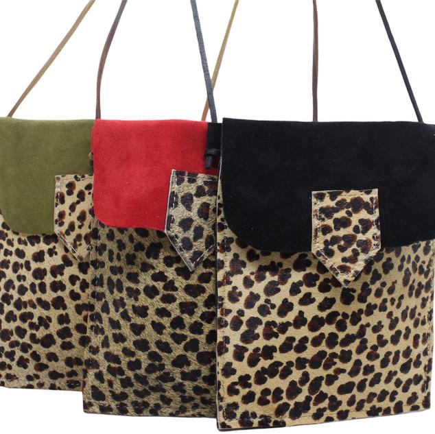 Bolsa de Telemóvel leopardo
