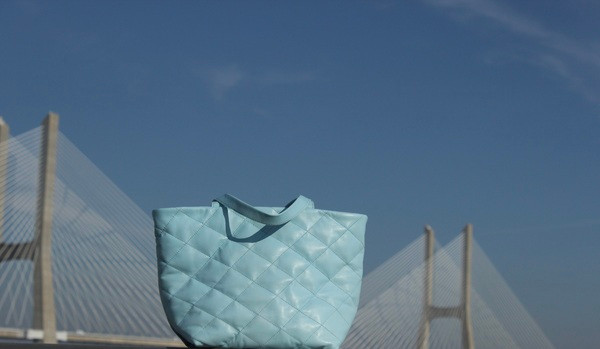 DiamondBag _ pele azul céu