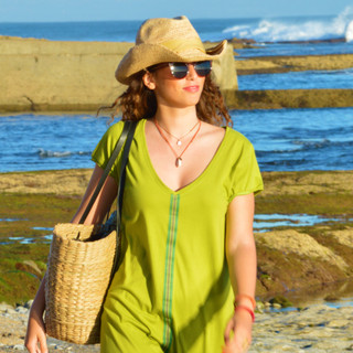 Vestido praia Pistachio - 30€