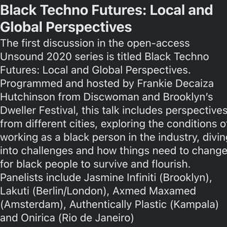 Black Techno Futures