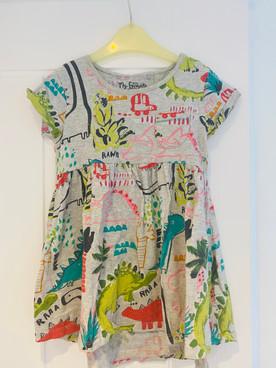 Next dinosaur dress 2-3 years