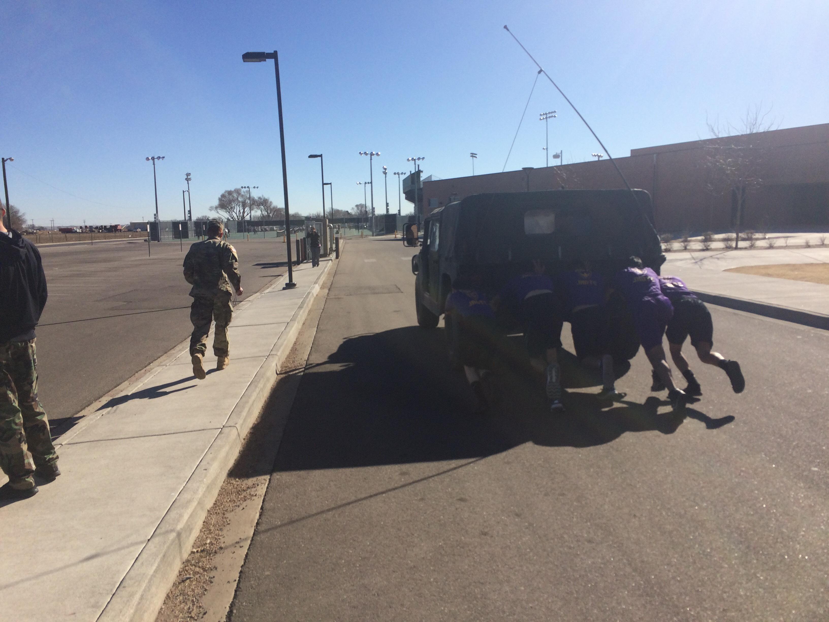 Raider at Pueblo Competition