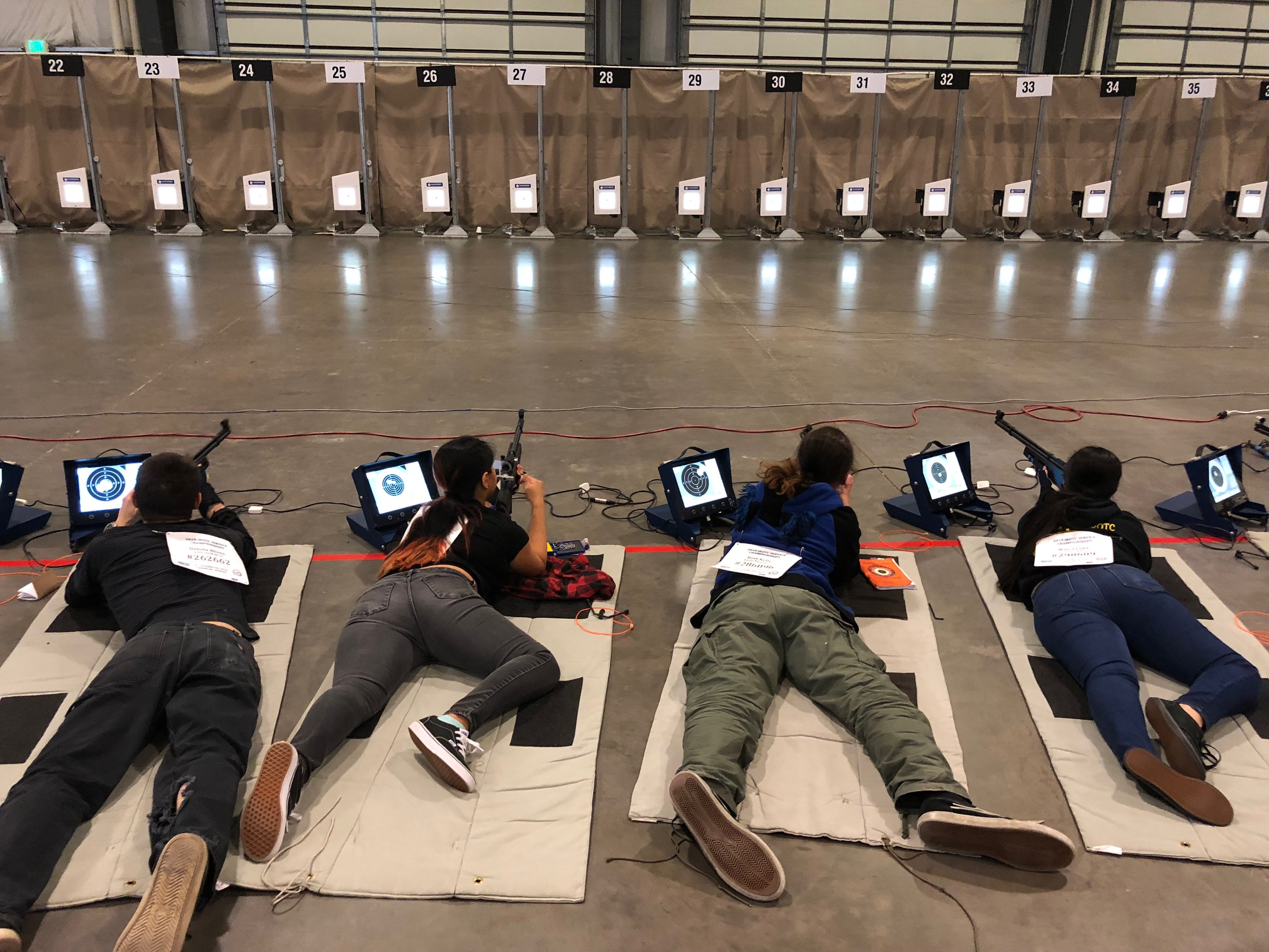 North JROTC Rifle Team at Nationals