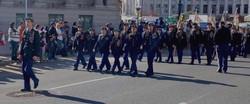 Staff at Veterans Day Parade
