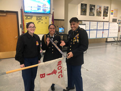 2020 Squad Drill Competition Winners