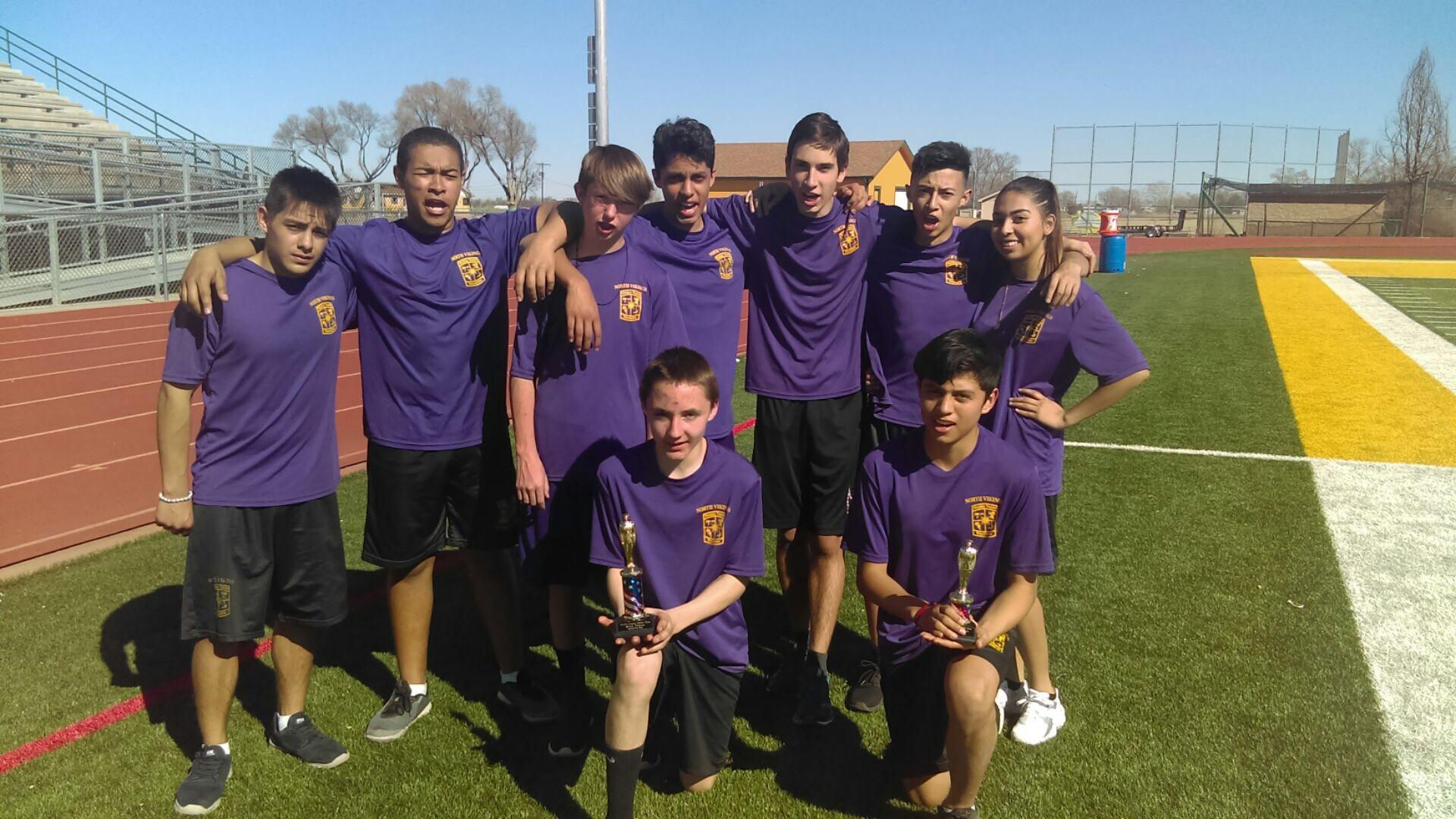 Raider Team at Pueblo Competition