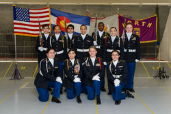 Color Guard Team Picture