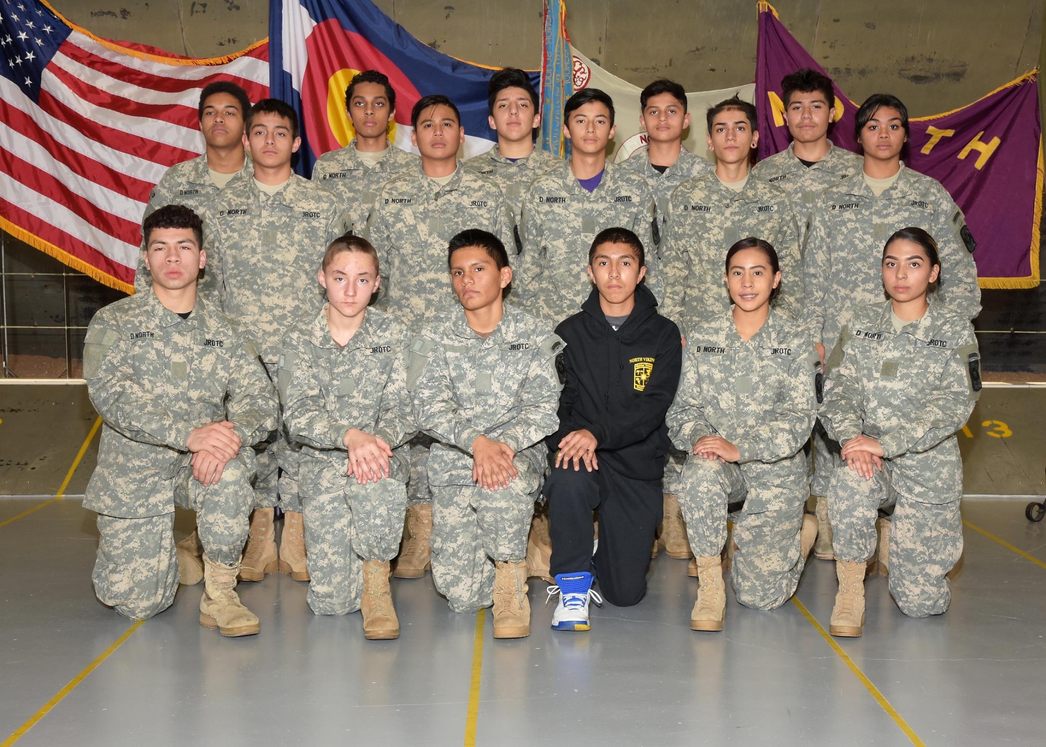 2017-2018 Raider Team