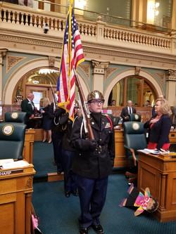 Color Guard at the Capitol
