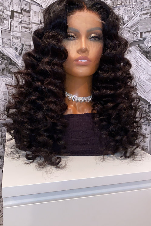 Lace Closure Wig Loose Wave
