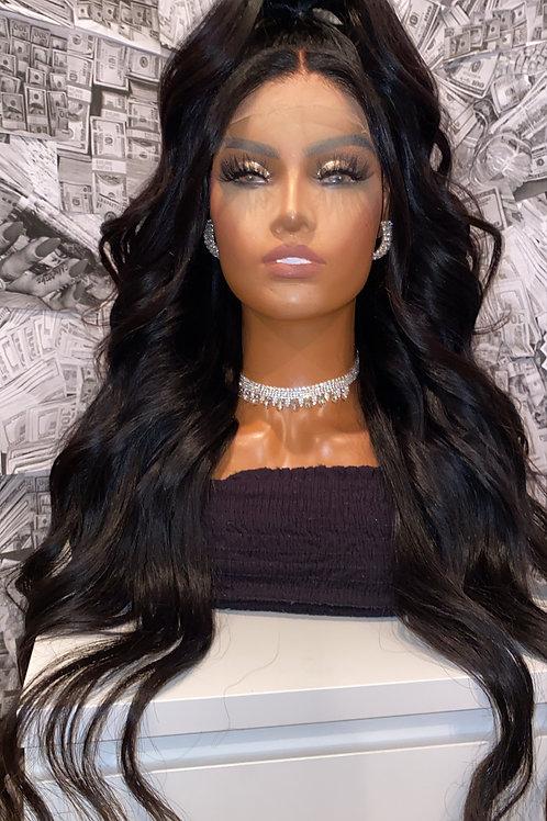 Body Wave Closure Wig 150%