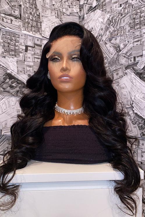 Body Wave Closure Wigs 180%
