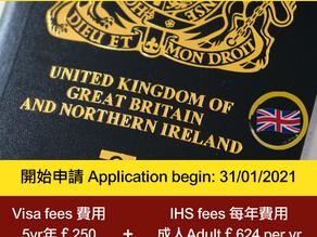 BNO VISA 簽證!!!