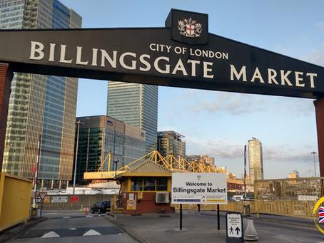 英國最大魚市場 Billingsgate Fish Market