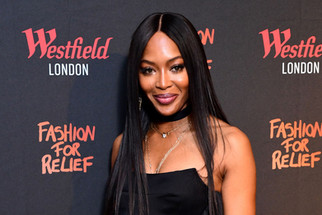 Naomi Campbell Announces She's Welcomed A Baby Girl
