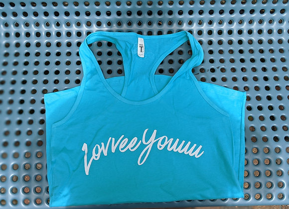 Love You Racer Back Tank