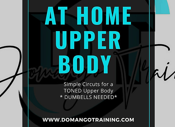 At Home Upper Body Workout- *Dumbbells Needed*