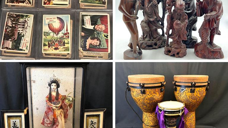 Estate Treasures: Lladro, Instruments, Ceramics and More!