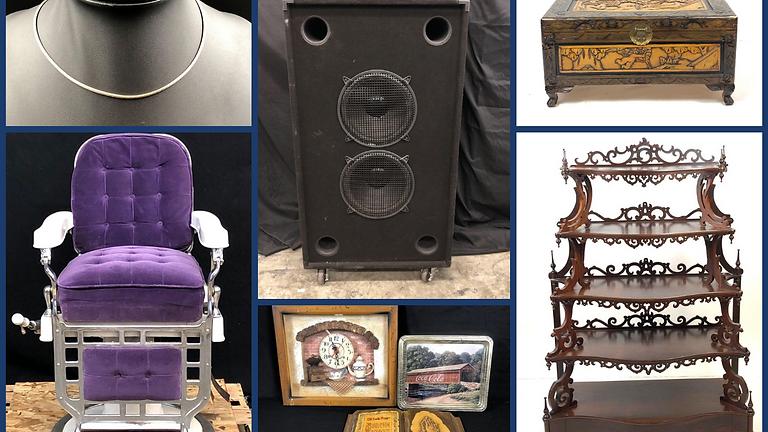 Estate Treasures: Victorian Furniture, Gold & Silver Jewelry