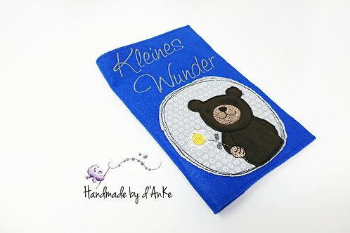 """Mutter-Kind-Pass-Hülle """"Kleines Wunder"""""""
