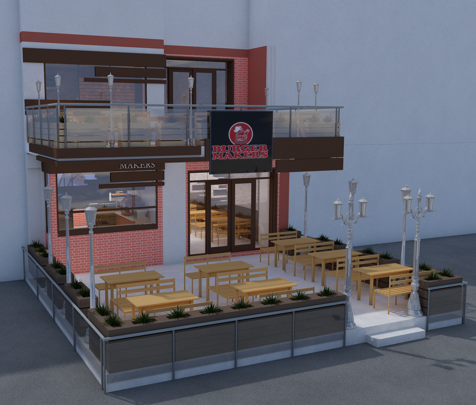 """""""Burger Makers"""" eatery"""