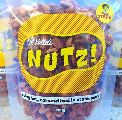 Ol Yella's NUTZ! - Stank - 280g