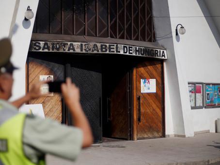 Atentados en iglesias tensionan llegada del Papa Francisco a Chile