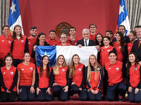 38 Oros para Chile en Cochabamba