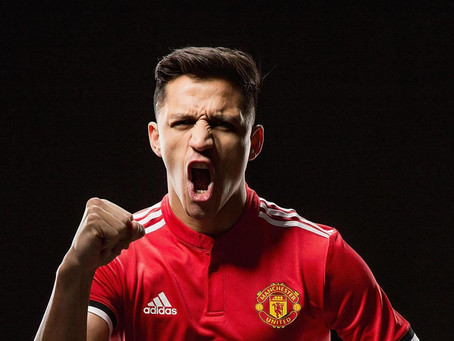 Alexis Sánchez ya integra el Manchelester United