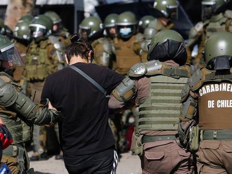 Detienen a manifestante diagnosticado con Covid-19