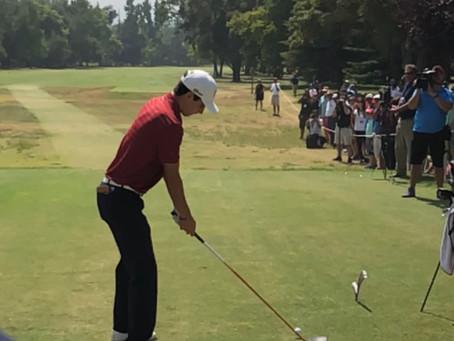 El chileno que deslumbra en el golf