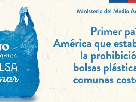 Chile dice NO a las bolsas plásticas