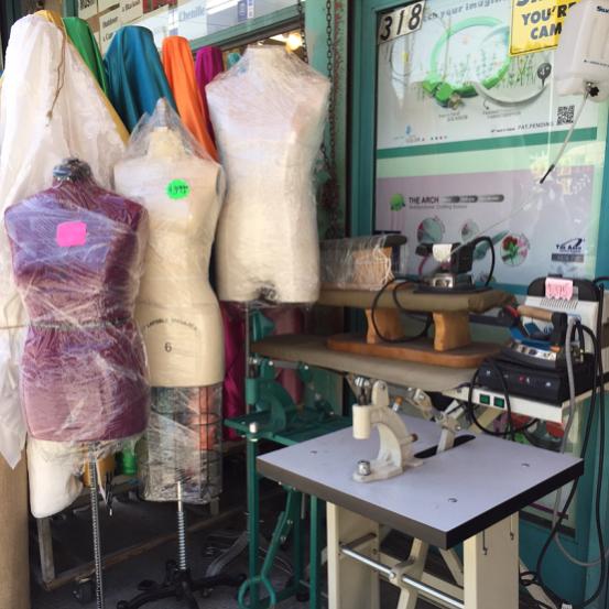 LA Fashion District Supplies