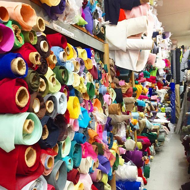 LA Fashion Districts fabrics