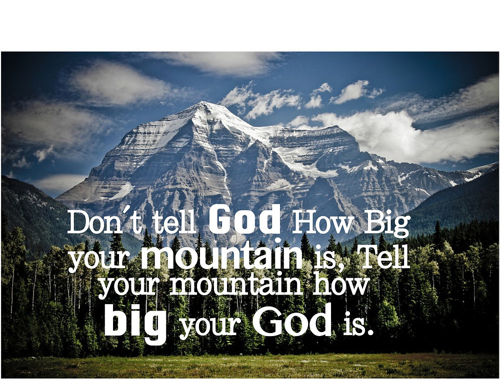 Mountain image about faith