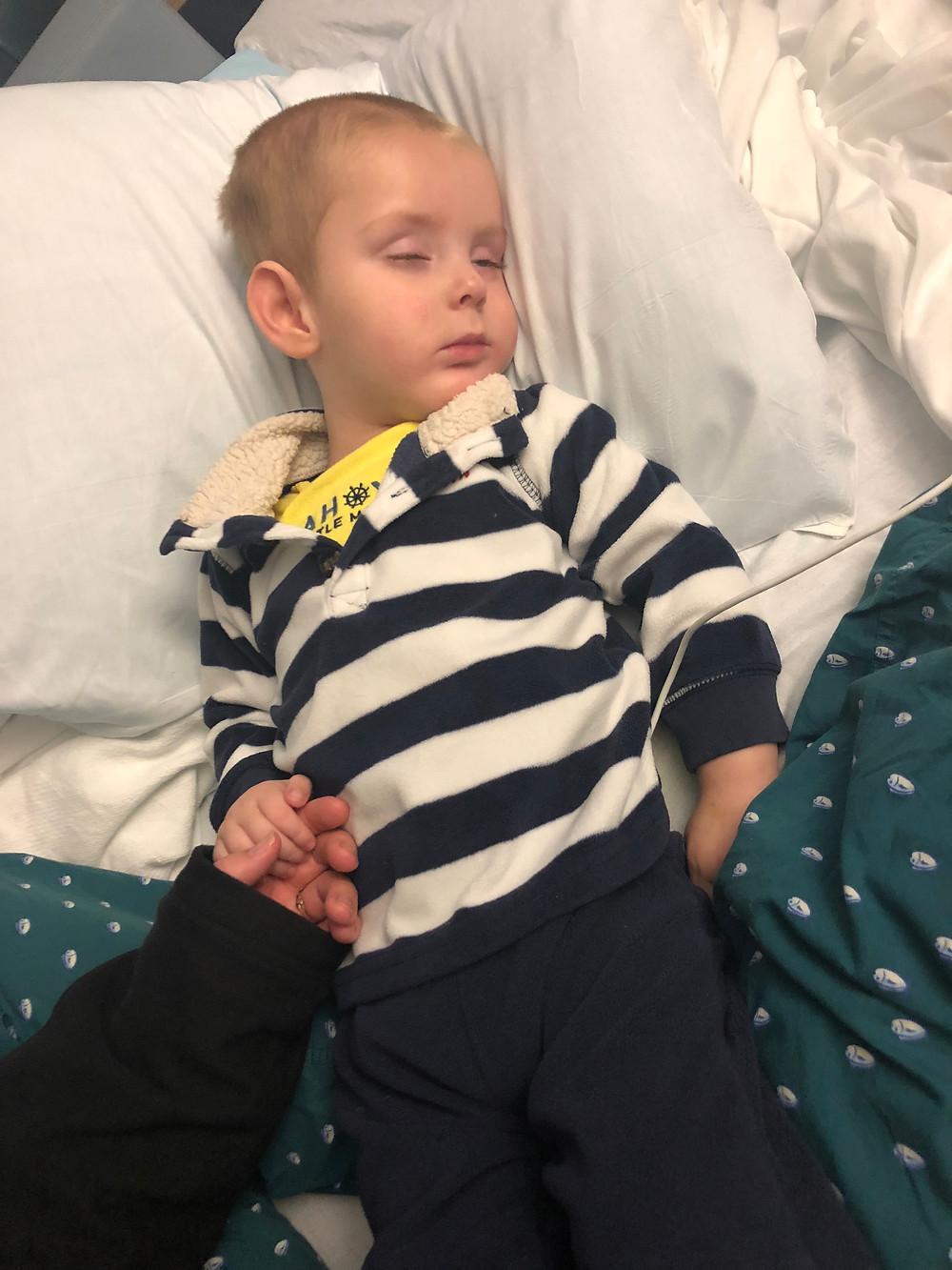 Drake OSullivan hospitalization.