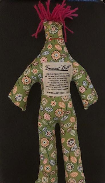 A stuffed doll