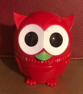 A red owl timer