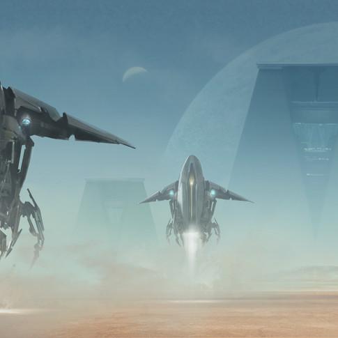 Space ship design