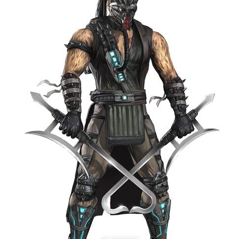 Kabal character design for Mortal Kombat 9