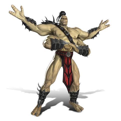 Goro character design for Mortal Kombat 9